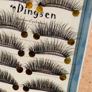 Other - 10 pairs soft 3D handmade false eyelashes natural